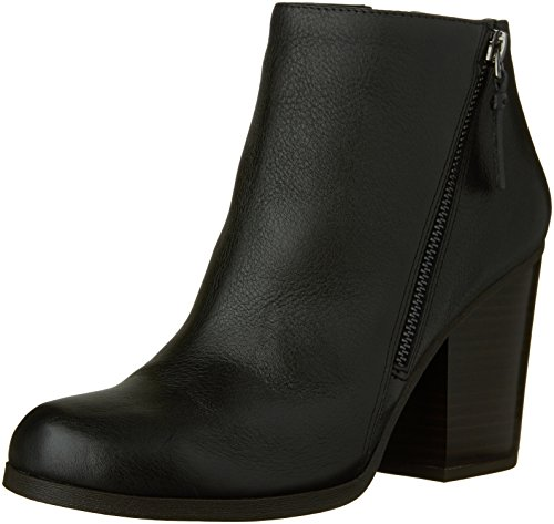 Kenneth Cole REACTION Women's Might Win Ankle Bootie, Black, 10 M US