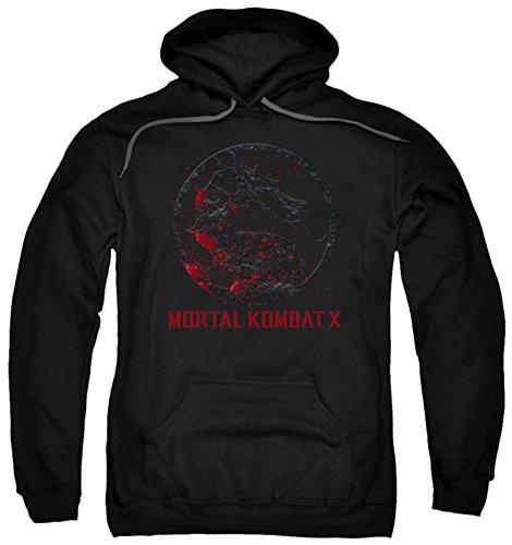 Hoodie: Mortal Kombat X - Bloody Seal Pullover Hoodie Size M for $<!--$28.60-->