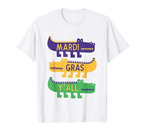 New Orleans Mardi Gras For Kids T-Shirt