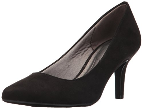 LifeStride Women's Sevyn Dress Pump, Black Micro,9.5 M