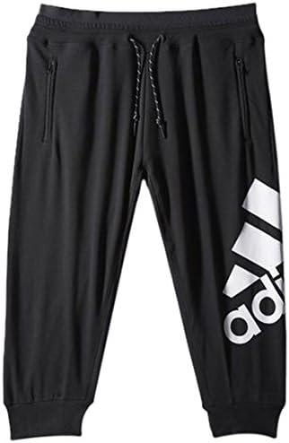 S-XXL adidas 3//4 Hose Damen schwarz Sporthose Pant mit Taschen Gr