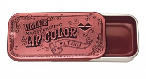 Tinte Cosmetics - Vintage Slider Tin Flavored Lip Color (Miss Pepper)