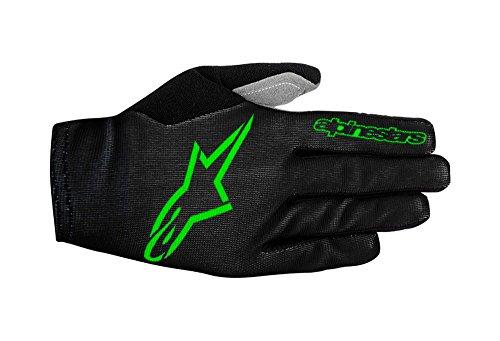 Price comparison product image Alpinestars Men's Aero 2 Gloves,  X-Large,  Black Bright Green