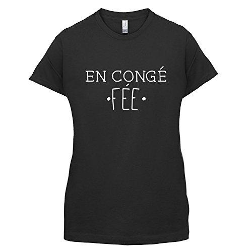 En congé fantasy fée - Femme T-Shirt - Noir - XXL