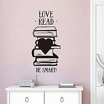 Vinilos de pared de vinilo libro de la pared cartel librería ...