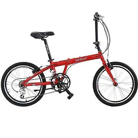 HASA Bicicleta Plegable Shimano 18 velocidades 20 Pulgadas ...