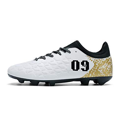 De Black Fútbol Antideslizante Zapatos Adolescentes Hombres zqqpw
