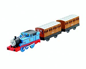 Thomas & Friends Motorized Trackmaster Thomas with Annie and Clarabel New!