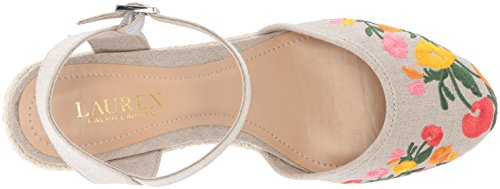 Lauren Women's Flax Wedge Sandal Ralph Lauren Espadrille Hayleigh ROwn5E