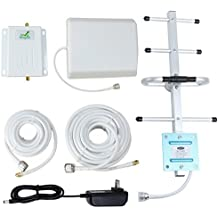 Verizon Cell Signal Booster 4G Lte 700MHz Band 13 Cell Phone Signal Repeater Booster with Yagi Antenna for Home and Office (Verizon 4G Lte)