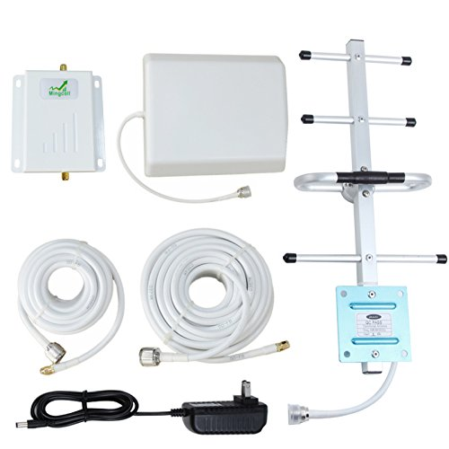 Verizon Cell Signal Booster 4G Lte 700MHz Band 13 Cell Phone Signal Repeater Booster with Yagi Antenna for Home and Office (Verizon 4G Lte) (Signal Cell Amplifier Phone)