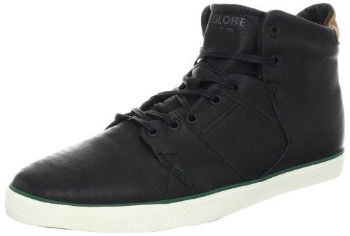 Globe Men's Los Angered Skate Shoe,Black Fog,9 M US (Globe Shoes High Top)