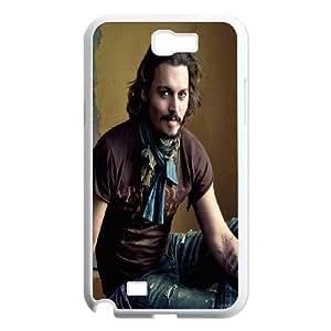 Samsung Galaxy N2 7100 Cell Phone Case White_Johnny Depp Etaek