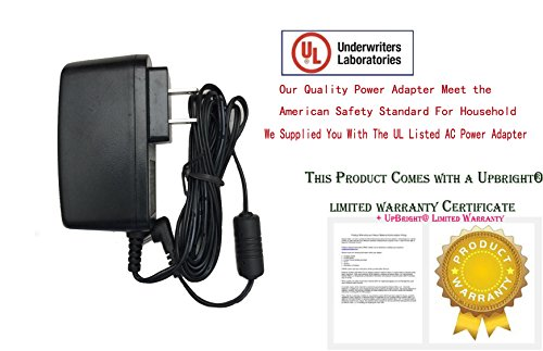 UpBright  New Global AC / DC Adapter For Schwinn A20 A 20 120 220 240 227P 227 P Recumbent Exercise Bike 9V 9VDC Power Supply Cord Cable PS Charger Mains PSU