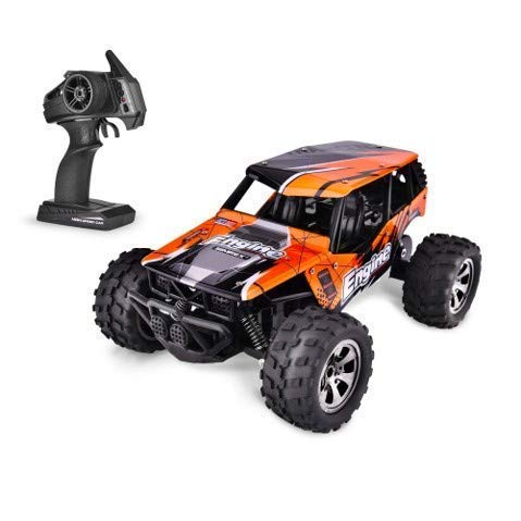 Remote Control Car for Boys - RC Car Remote Control Truck Model - Rechargeable Battery Powered RC Cars for Kids - 4x4 Monster Truck Radio Controlled Boys Toys - Cool Toys, No Wifi Games, Tech Gadgets