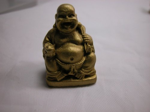 "Dollhouse Miniature 1"" x 1"" Buddha Budda Buddah Buda Statue"