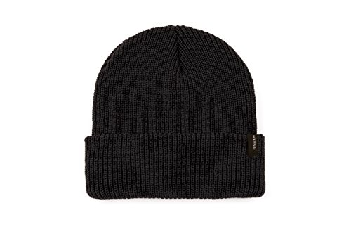 Beanie New Skate - Brixton Men's Heist Beanie Hat, New Black, One Size