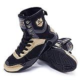Zapatos de lucha libre de boxeo para hombre con suela de goma antideslizante