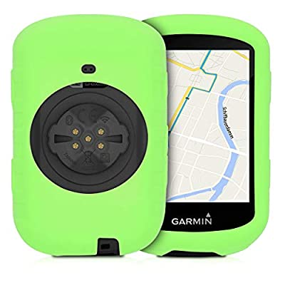 kwmobile Case Compatible with Garmin Edge 530 - Soft Silicone Bike GPS Navigation System Protective Cover - Green: Sports & Outdoors