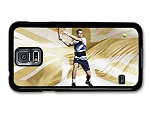 AMAF ? Accessories Andy Murray Gold Great Britain Tennis Player case for Samsung Galaxy S5
