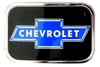 Official Licensed Chevrolet Car Logo Full Color Graphic Belt Buckle