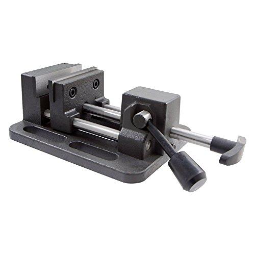 [해외]HHIP 3900-0183 프로 시리즈 고급 아이언 퀵 슬라이드 드릴 프레스 바이스 3\\ / HHIP 3900-0183 Pro-Series High Grade Iron Quick Slide Drill Press Vise 3 Width x 1.25 Depth Jaw 3.5 Jaw Opening (Pack of 1)
