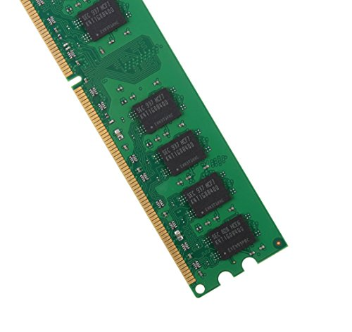 DUOMEIQI 4GB Kit (2 X 2GB) 2RX8 DDR2 800MHz UDIMM PC2-6300 PC2-6400 PC2-6400U CL6 1.8v (240 PIN) Non-ECC Unbuffered Desktop Memory RAM Module Compatible with Intel AMD System by D DUOMEIQI (Image #1)