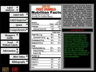 Quickstart Low-Carb Food Label Analyzer