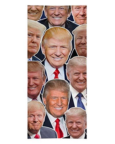 Donald Trump Face Beach Towel