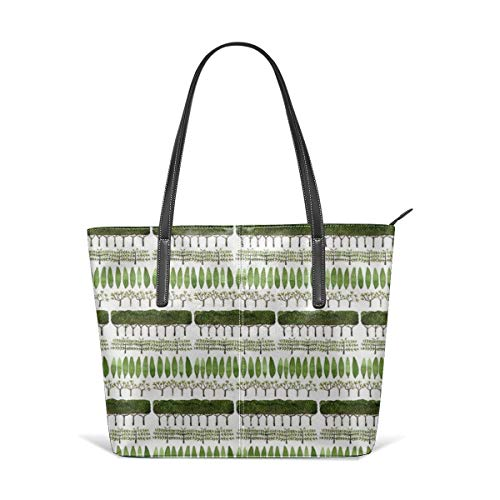 Allée Of Trees - Topiary Collection-Fine Handbag Fashionable Design Waterproof, Large Capacity, Durable, Lightweight, Flexible, Suitable For Work, Travel.