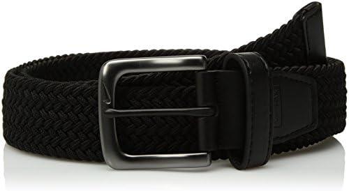 [해외]Nike Men`s G-Flex Woven Stretch Golf Belt black Medium / Nike Men`s G-Flex Woven Stretch Golf Belt, black, Medium