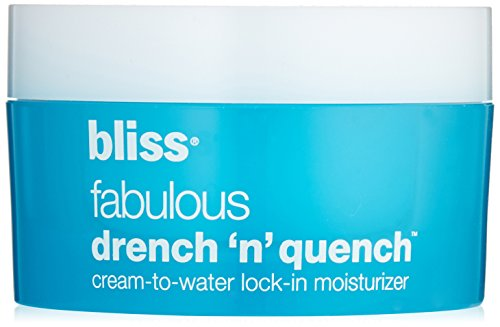 Bliss Fabulous Drench and Quench Cream to Water Lock in Moisturizer, 1.7 oz.