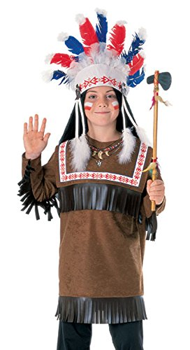Children Costume Warrior Indian Outfit