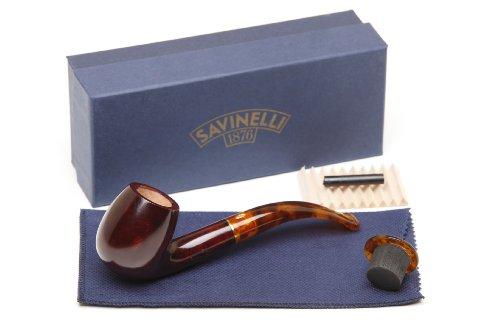 Savinelli Tortuga Smooth 602 Tobacco Pipe ()