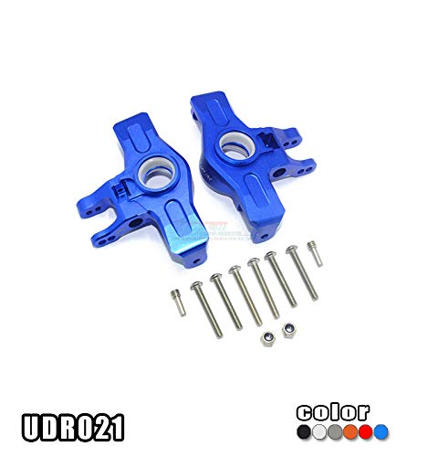 Part & Accessories 1/7 TRAXXAS UNLIMITED DESERT RACER UDR ALLOY FRONT KNUCKLE ARMS - SET UDR021 - (Color: Clear)