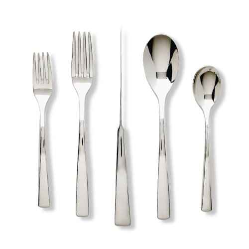 Ginkgo International President 20-Piece Stainless Steel Flatware Place Setting, Service for 4