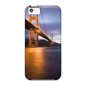 Premium Durable Golden Gate Bridge San Fransisco Fashion Iphone 5c Protective Cases Covers