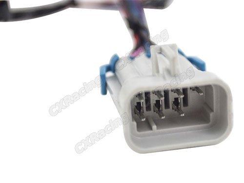 41yFDZFbXNL amazon com cxracing ignition coil main harness connector male