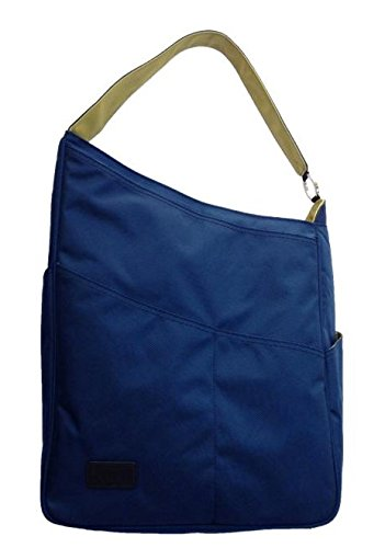 Maggie Mather - Shoulder Bag - Navy/Lime by Maggie Mather