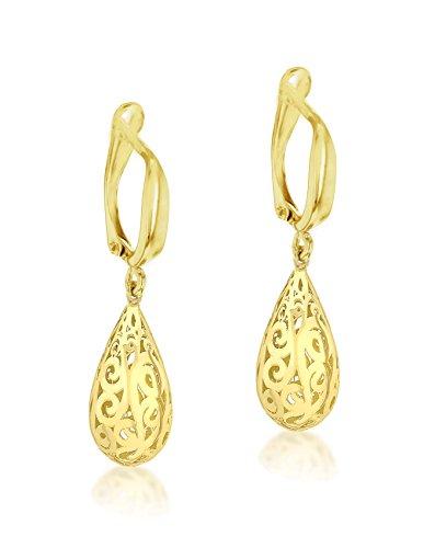 Carissima Gold - Boucles d'oreilles clous - Or jaune 9 cts - 1.54.3919