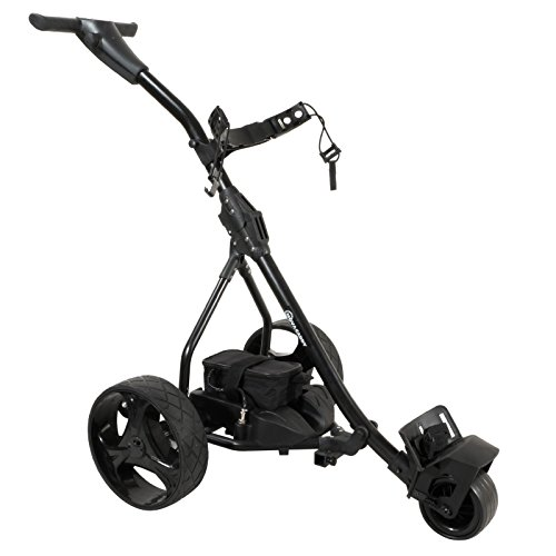 NovaCaddy S2R Remote Control Electric Golf Trolley Cart, Lithium Battery, Black