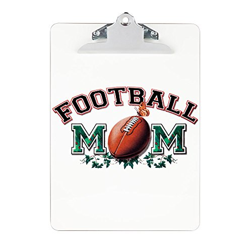Clipboard Football Mom with Ivy