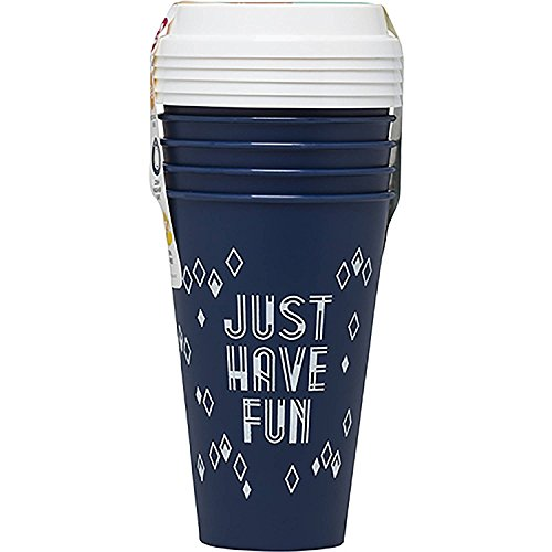 Aladdin 5 Reusable To-Go Cups - Just Have Fun