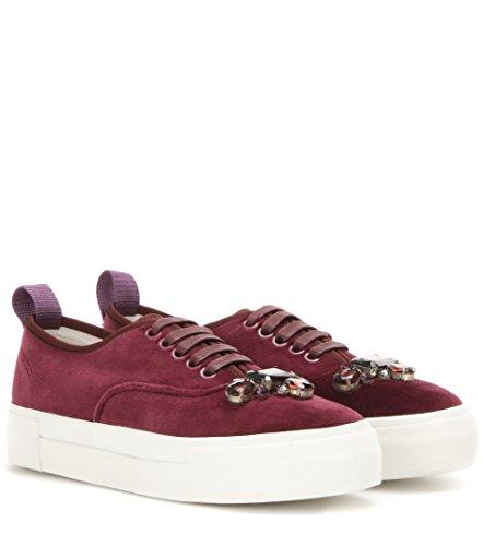 Shoeslulu 20-50 Premium Flat Waxed Cotton Bootlaces Lacci Delle Scarpe Rosso Sangue