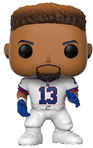 big sale 425f2 34c91 Funko POP NFL: Odell Beckham Jr. (Giants Color Rush) Collectible Figure