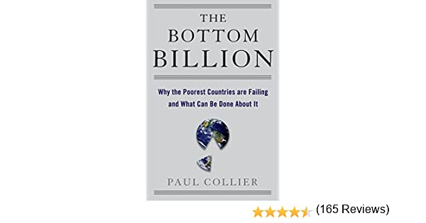 Amazoncom The Bottom Billion Why The Poorest Countries Are - Five poorest countries