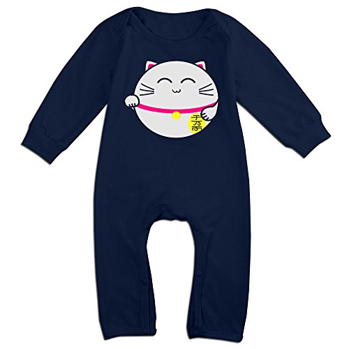 OLGB Newborn Lucky Cat Long Sleeve Outfits 6 M