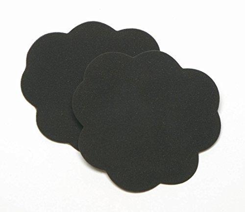 Foot Petals Tip Toes Cushions Shoe Inserts , Black Iris - Foot Petals Tip Toes Black Iris