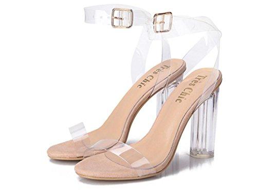 SELL YCMDM donne Lucidi sandali caldo classico tacco alto 39 36 35 38 37 40 41 , apricot , 35
