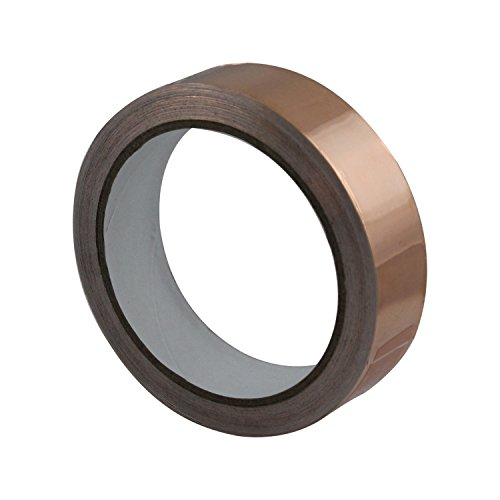 Pretmanns Copper Foil Tape with Conductive Adhesive 40 Feet x 1